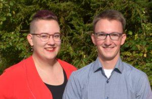 Sarah Stebich und Tobias Droxner
